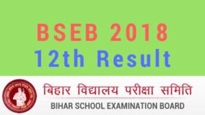 Bihar Board 12th Result Websites